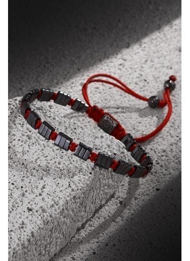 Noon Collection Bileklik Kırmızı